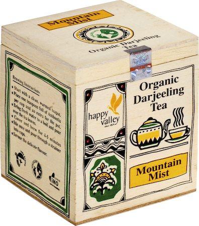 Happy Valley Organic Darjeeling Mountain Mist White Tea, Whole Leaf 25 gm
