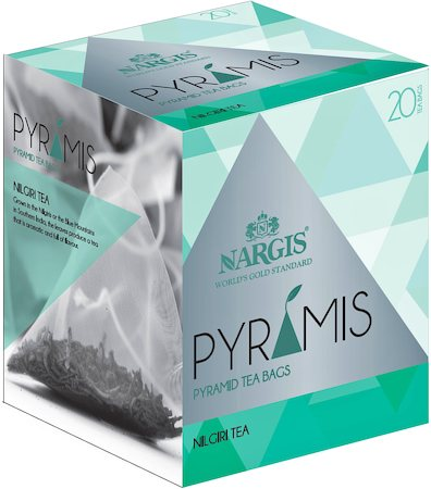 Nargis Pyramis Nilgiri Black Tea (20 pyramid tea bags)