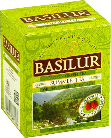 Basilur Four Seasons Summer Tea (10 tea bags)