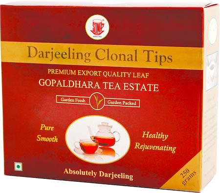 Gopaldhara Darjeeling Clonal Tips, Loose Leaf Tea 250 gm