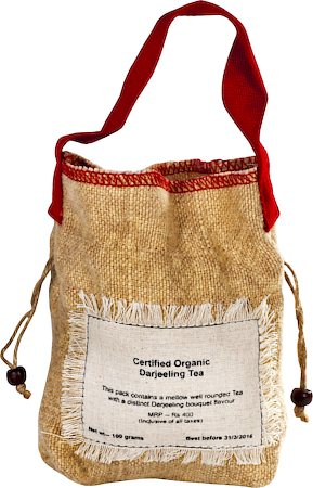 Happy Valley Organic Darjeeling Black Tea with Rose Petals, Whole Leaf 100 gm