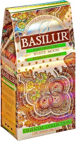Basilur Oriental Collection White Moon Loose Leaf Tea 100 gm