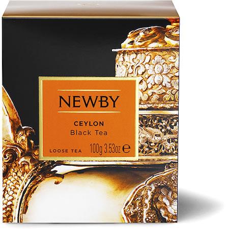 Newby Heritage Ceylon Loose Leaf Black Tea, 100 gm Carton