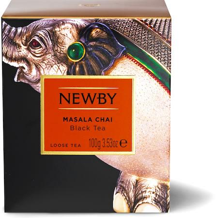Newby Heritage Masala Chai Loose Leaf Tea, 100 gm Carton