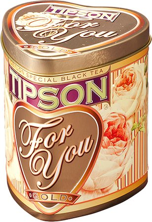 Tipson For You Gold Loose Leaf Tea 75 gm Caddy
