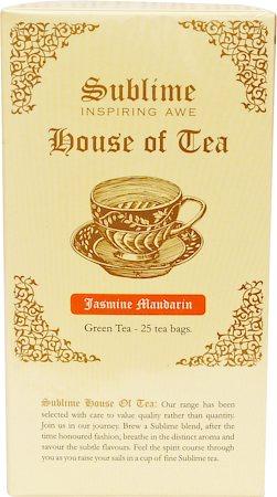 Sublime Jasmine Mandarin Tea (25 Pyramid tea bags)