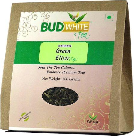 Budwhite Green Elixir Organic Tea 100 gm