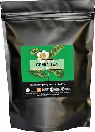 Glenburn Darjeeling Green Tea, Loose 227 gm