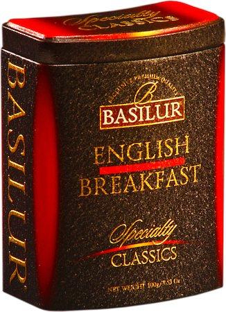 Basilur Specialty Classics English Breakfast Loose Tea 100 gm Caddy