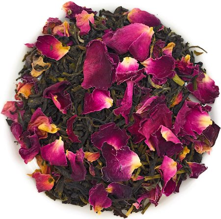Nargis Rose Green Tea, Loose Leaf 500 gm