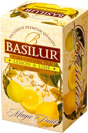 Basilur Magic Fruits Lemon and Lime (20 tea bags)