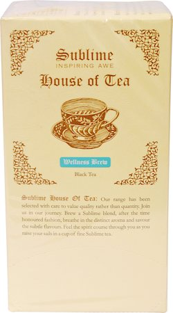 Sublime Wellness Brew Tea (25 Pyramid tea bags)