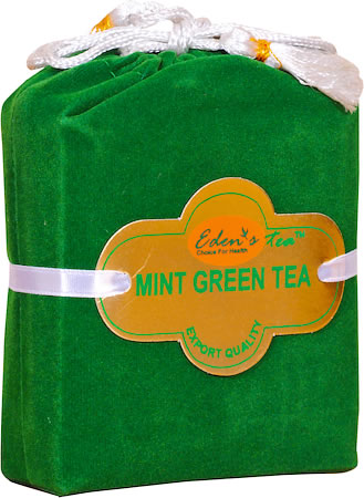 Eden's Mint Green Loose Leaf Tea 100 gm