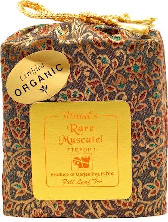 Mittal's Darjeeling Rare Muscatel Tea, Full Leaf 100 gm