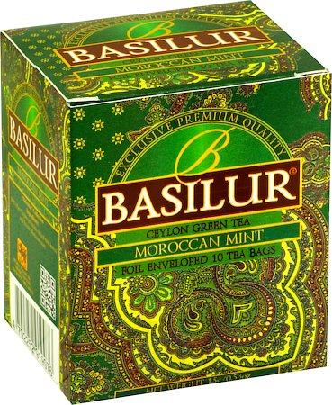 Basilur Oriental Collection Moroccan Mint Tea (10 tea bags)