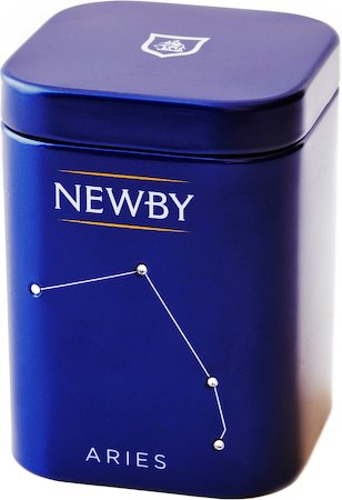 Newby Zodiac - ARIES African Blend, Loose Leaf 25 gm Mini Caddy