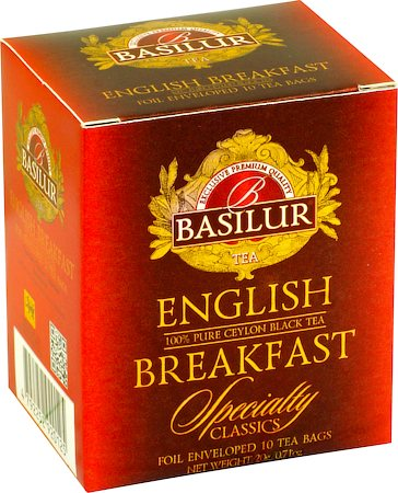 Basilur Specialty Classics English Breakfast Tea (10 tea bags)