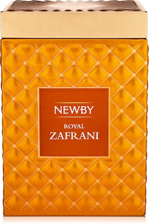 Newby Gourmet Royal Zafrani Black Tea, 75 gm Caddy