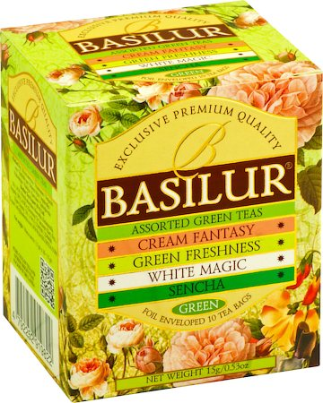 Basilur Bouquet Assorted Tea (10 tea bags)
