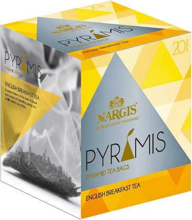 Nargis Pyramis English Breakfast Tea (20 pyramid tea bags)