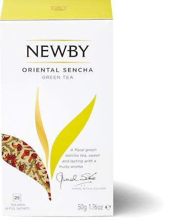 Newby Oriental Sencha Green Tea (25 tea bags)