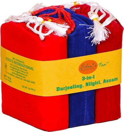 Eden's 3-in-1 Darjeeling, Nilgiri, Assam Loose Leaf Tea 3x100 gm