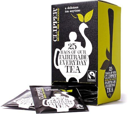 Clipper Fairtrade Everyday Tea (25 tea bags)