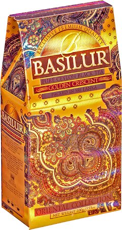 Basilur Oriental Collection Golden Crescent Loose Leaf Tea 100 gm