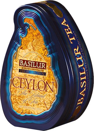 Basilur The Island of Tea Ceylon High Grown Loose Leaf 100 gm Caddy