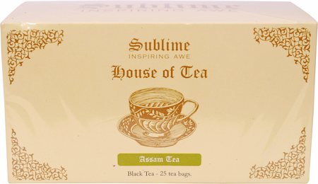 Sublime Assam CTC Tea (25 Pyramid tea bags)
