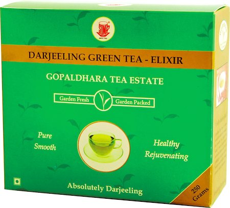 Gopaldhara Darjeeling Green Tea Elixir, Loose Leaf 250 gm