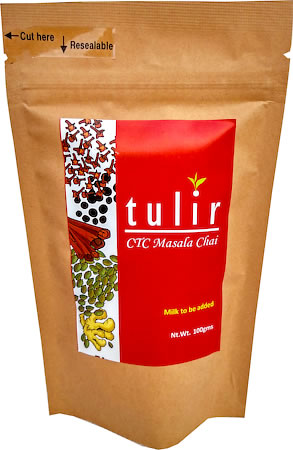 Tulir Black CTC Masala Chai, Loose 100 gm