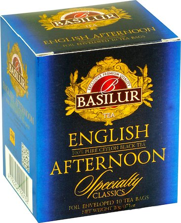 Basilur Specialty Classics English Afternoon Tea (10 tea bags)