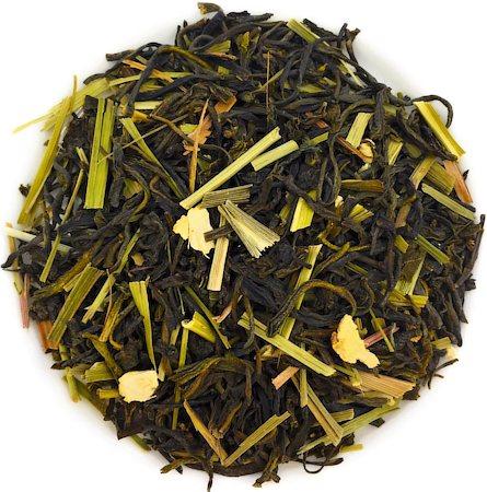 Nargis Ginger Lemongrass Green Tea, Loose Leaf 100 gm