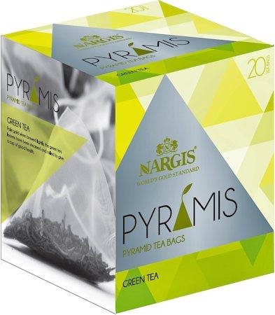 Nargis Pyramis Green Tea (20 pyramid tea bags)