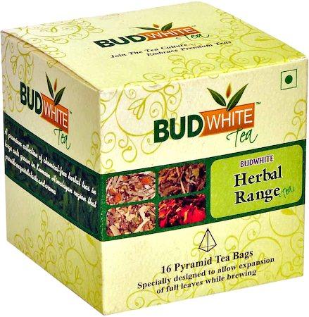 Budwhite Herbal Tea Combo (16 Pyramid tea bags)