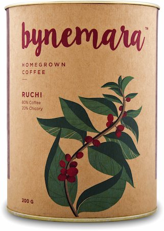 Bynemara Ruchi Single Estate Coffee, Medium Grind 200 gm
