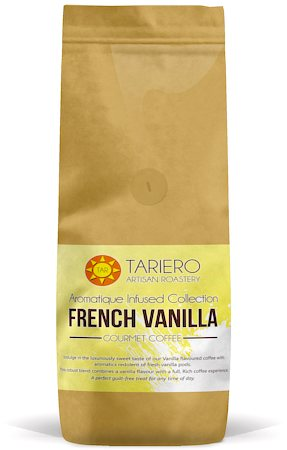 Tariero French Vanilla Flavoured Gourmet Coffee, Fine Grind 250 gm