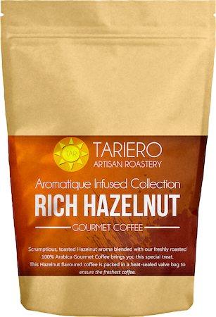Tariero Rich Hazelnut Flavoured Gourmet Coffee, Fine Grind 100 gm
