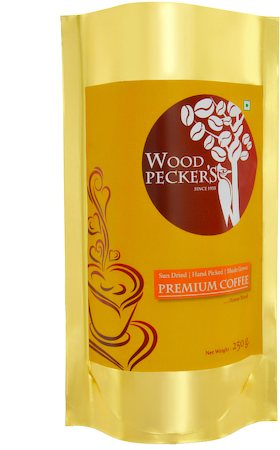 Woodi Peck's Premium Coffee Powder - 30% Chicory, 250 gm