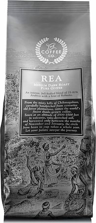 Rea Pure Coffee, Whole Beans 250 gm