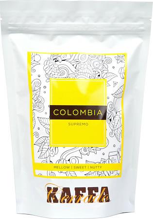 Kaffa Cerrado Colombia Supremo Coffee, Whole Beans 250 gm