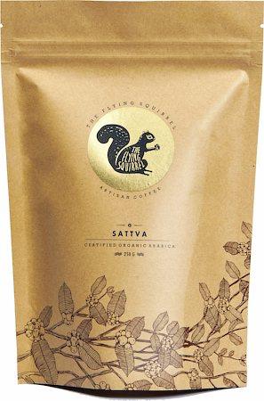 Flying Squirrel Sattva Organic Arabica Coffee, Medium Grind 250 gm