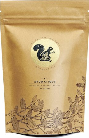 Flying Squirrel Aromatique Single Estate Arabica Artisan Coffee, Whole Beans 250 gm