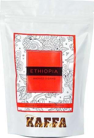 Kaffa Cerrado Ethiopia Washed Sidamo Coffee, Fine Grind 250 gm