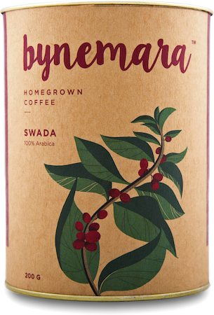 Bynemara Swada Single Estate Coffee, Medium Fine Grind 200 gm