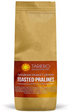 Tariero Toasted Pralines Flavoured Gourmet Coffee, Fine Grind 250 gm