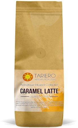 Tariero Caramel Latte Flavoured Gourmet Coffee, Fine Grind 250 gm