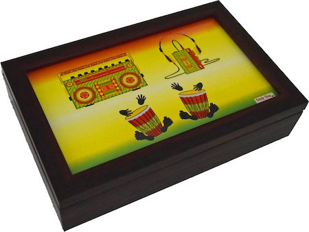 Twirly Tales Music Series Tea Bag Organiser