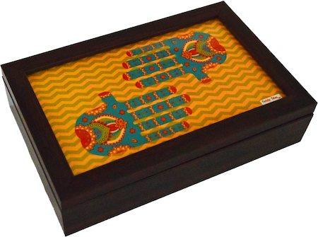 Twirly Tales Ethnic Hands Series Tea Bag Organiser